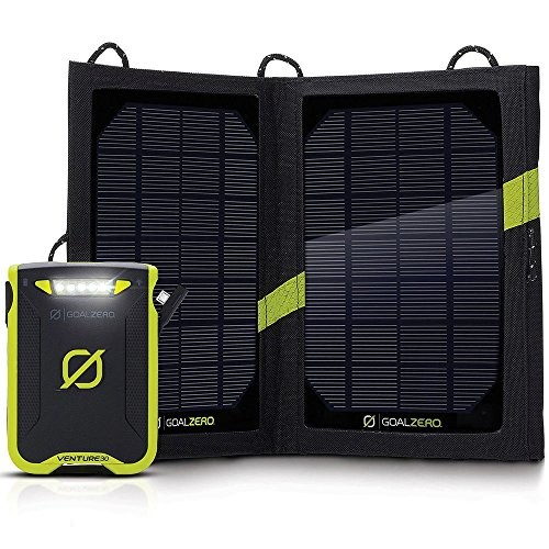 Goal Zero Venture 30 7800mAh USB Solar Recharging Kit 42020