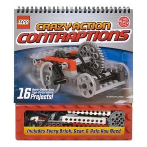 Klutz Press Klutz Lego Crazy Action Contraptions Book