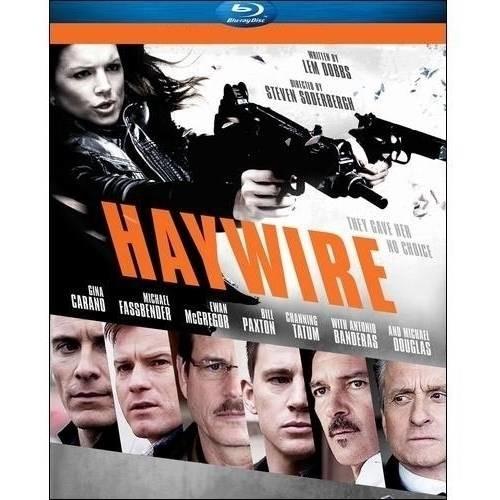 Haywire (Blu-ray + Digital Copy): Gina Carano, Michael Fassbender, Channing Tatum, Michael Douglas, Michael Angarano, Steven Soderbergh: Movies & TV