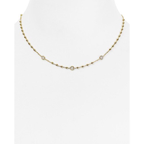 Station Chain Necklace, 16