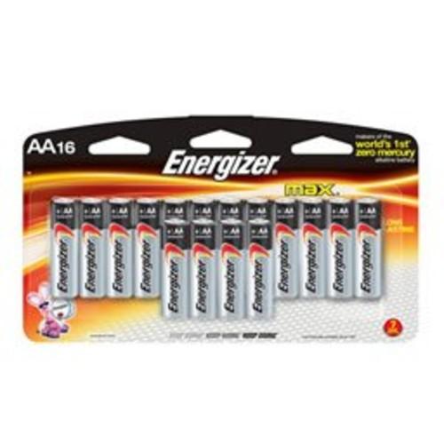 Energizer Max AA Alkaline 16 Pack