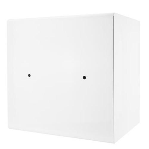 Barska 1.01 Cubic Foot Light Interior Keypad Jewelry Safe, White AX12672
