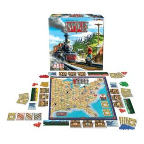 R & R Games Spike Challenging Railway Board Game