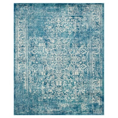 Safavieh Evoke Blue/Ivory 6 ft. 7 in. x 9 ft. Area Rug