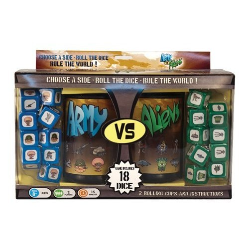 Army vs. Aliens Dice Game