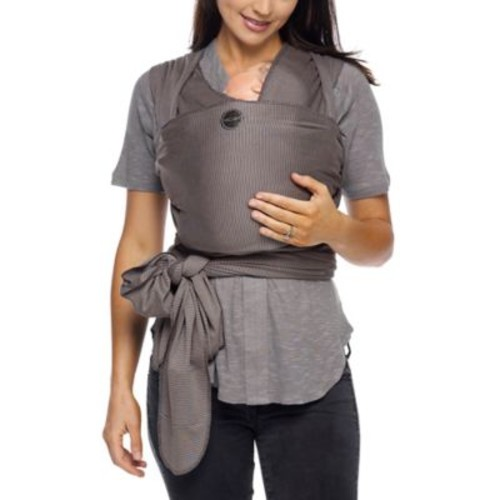 MOBY Wrap Classic Baby Carrier in Grey Stripe