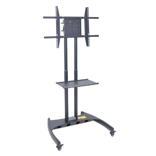 LUXOR FP3500 Flat Panel Cart Rotating and Adjustable Height LCD/LED Mount, 62.5