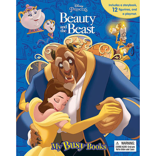 Disney Princess Beauty and the Beast: My Busy Books