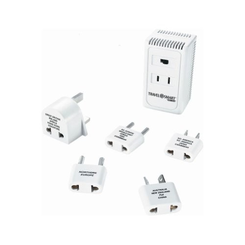 Travel Smart by Conair 1875-Watt Converter with High/Low Selector Switch [White]