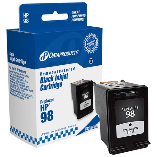 Dataproducts DPC64WN Remanufactured Inkjet Cartridge for HP 98 - Black Ink
