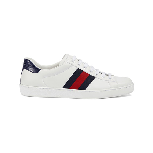 Ace leather low-top sneaker
