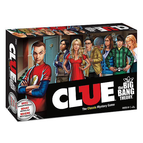 USAopoly Clue(R): The Big Bang Theory Mystery Game