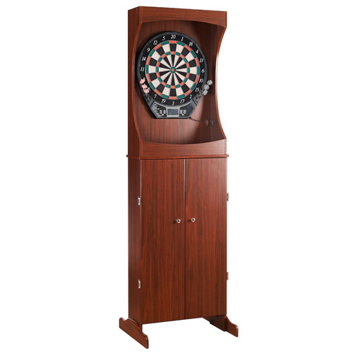 Hathaway Outlaw Electronic Dartboard & Free-Standing Cabinet Set