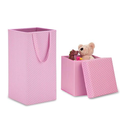 Honey-Can-Do Hamper & Storage Cube Set