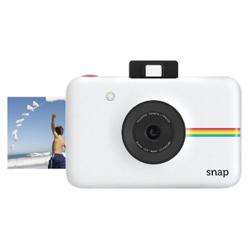 Snap Instant Digital Camera with Paper Kit (White)