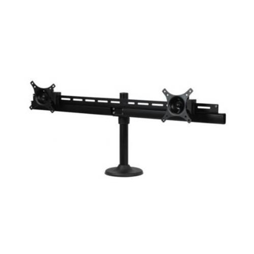 Dyconn DE9E2S-G Dual TV/Monitor Grommet Desk Mount