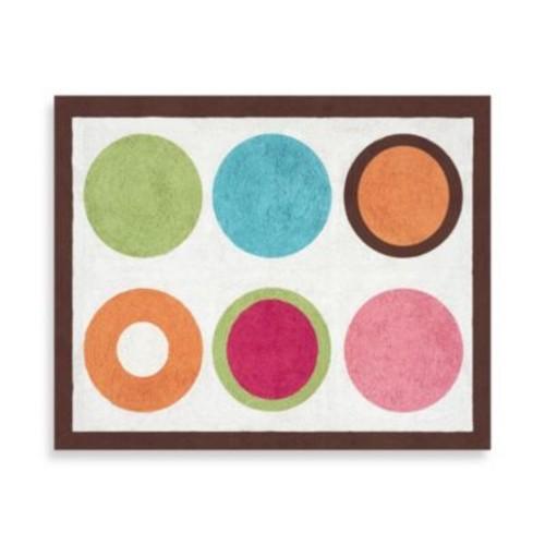 Sweet Jojo Designs Deco Dot Floor Rug