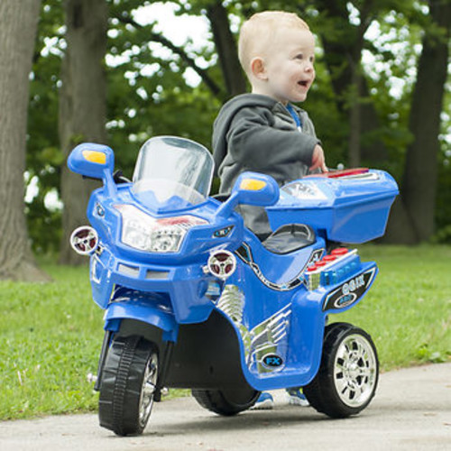 Lil' Rider 3-Wheel FX Sport Bike - Blue