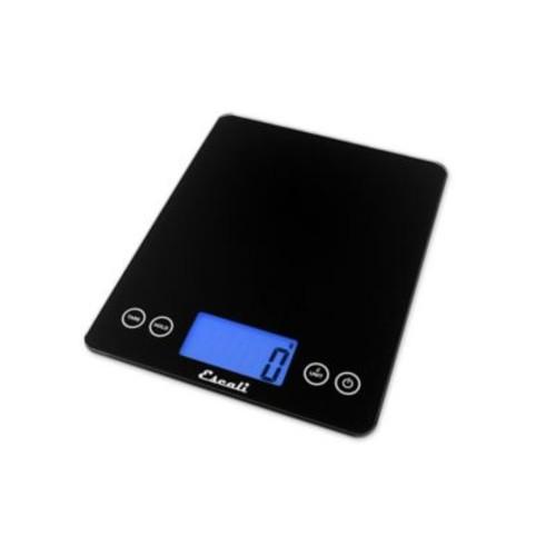 Escali Arti XL Glass Digital Kitchen Scale in Black
