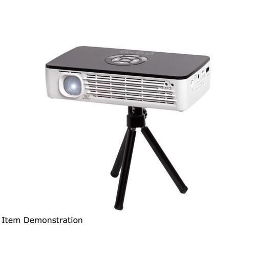 AAXA P700 Pro WXGA HD LED Pico / Portable Projector, 650 Lumens, WiFi/Bluetooth/3D Onboard, Built-in 70+ Min Battery, DLP