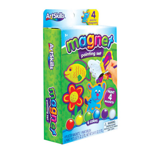 Artskills Paint Your Own Magnets Kit, Assorted Colors