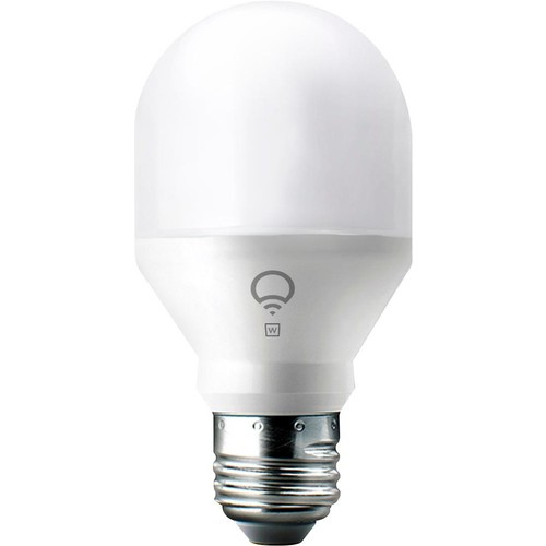 LIFX - Mini 800-Lumen, 9W Dimmable A19 LED Light Bulb, 60W Equivalent - Multicolor