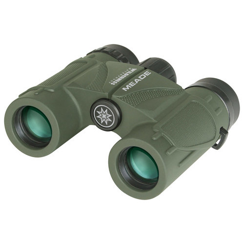 Meade 125020 Wilderness Binoculars - 8x25 (Green)