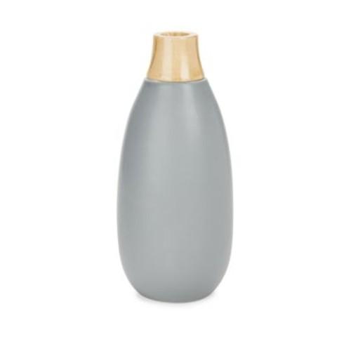 Home Essentials - Two-Tone Ceramic Vase