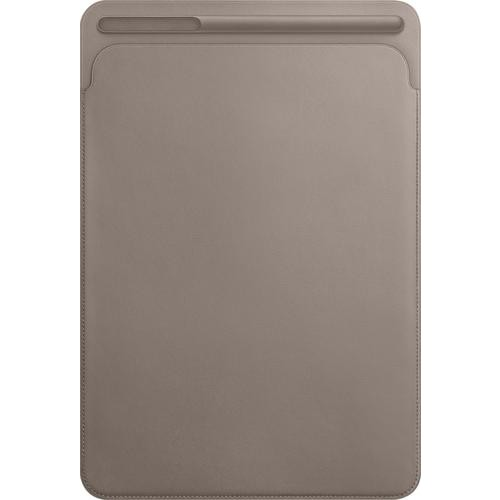 Apple - Leather Sleeve for 10.5-inch iPad Pro - Taupe