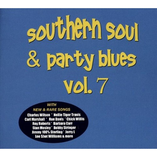 Various - Southern soul & party blues:Vol 7 (CD)