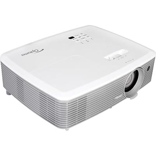 Optoma W400+ 3D Ready DLP Projector, 720p, HDTV, 16:10 (W400+)
