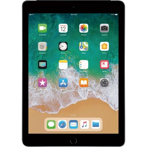 Apple - iPad (Latest Model) with Wi-Fi + Cellular - 128GB (Unlocked) - Space Gray