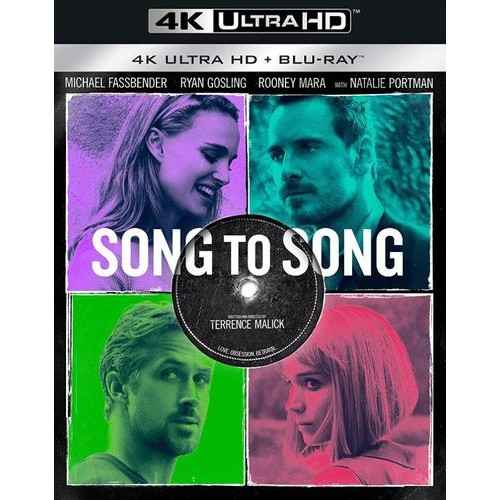 Song to Song [4K Ultra HD Blu-ray/Blu-ray] [2 Discs] [2017]