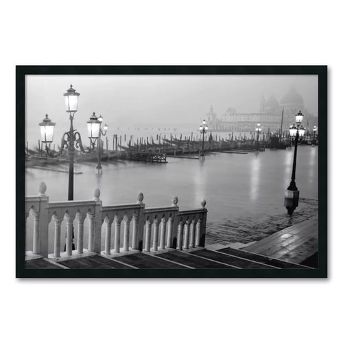 Grand Canal - Venice by Anonymous Framed Photographic Print