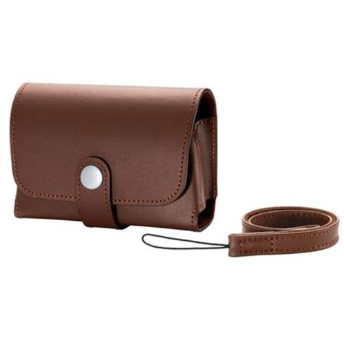 Canon PSC-5600 Deluxe Leather Fitted Case for Powershot G9-X Camera - Brown 1709C001