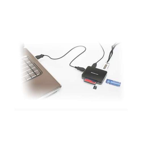 IOGEAR USB 2.0 Hub and 45-in-1 Card Reader, GUH287