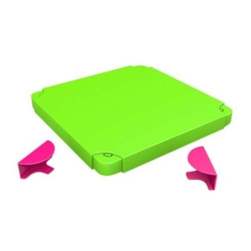 Chillafish Modular Toy Storage Box Top - Pink and Lime