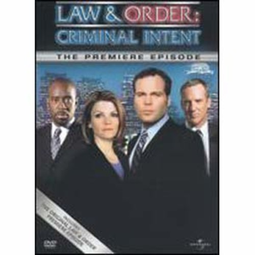 Law & Order: Criminal Intent - The Premiere Episode DDS