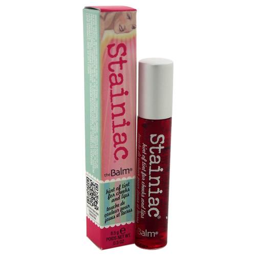 The Balm Stainiac Lip & Cheek Stain - Beauty Queen by for Women - 0.3 oz Lip Gloss