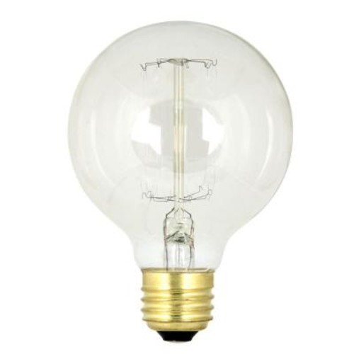 Feit Electric 60-Watt Soft White G25 Incandescent Original Vintage Style Light Bulb