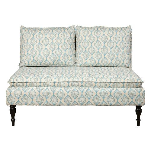 Marcella Cream/Blue Banquette