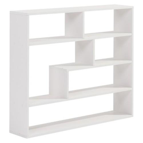 Danya B Large Rectangular Shelf Unit White