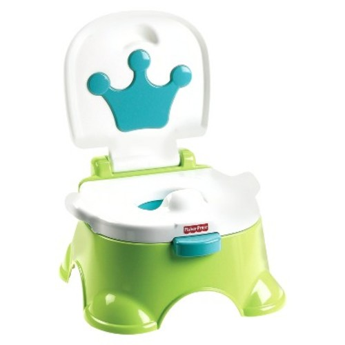 Fisher-Price Stepstool Potty - Green