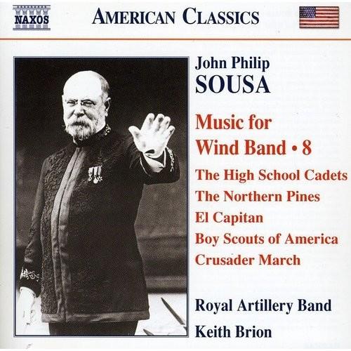 John Philip Sousa: Music for Wind Band, Vol. 8 [CD]