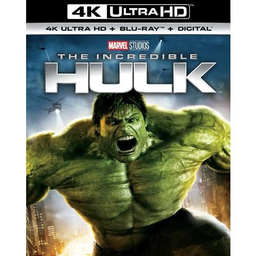 The Incredible Hulk [4K Ultra HD Blu-ray/Blu-ray] [2008]