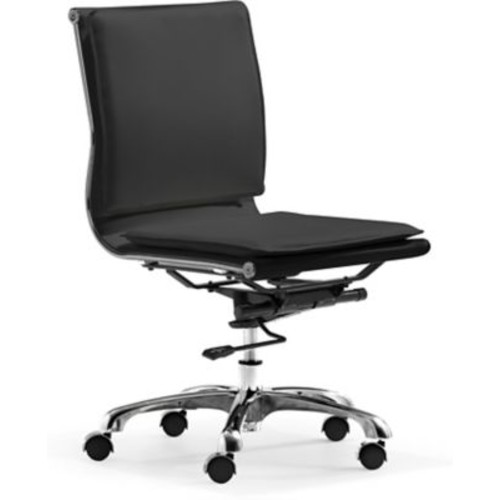 Zuo Lider Plus Leatherette Mid Back Office Chairs