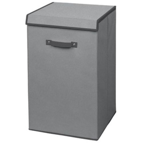 Arm & Hammer Collapsible Laundry Hamper in Grey
