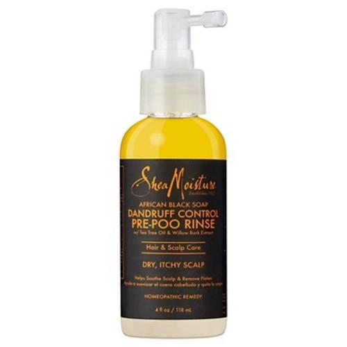 SheaMoisture African Black Soap Dandruff Control Prepoo Rinse - 4 fl oz