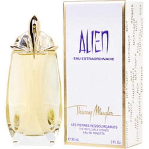 Thierry Mugler Alien Eau Extraordinaire Eau De Toilette Spray Refillable 3 Oz By Thierry Mugler For Women