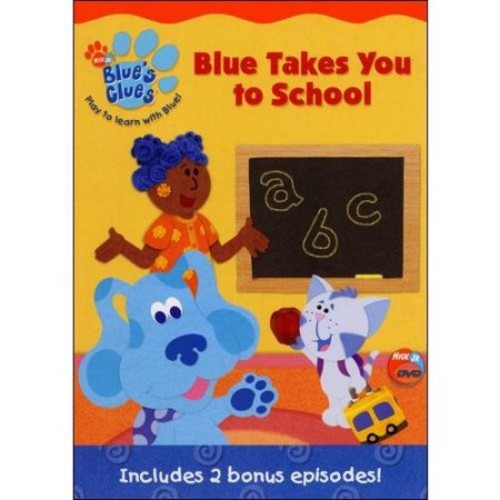 Blues Clues-Blue Takes You To School